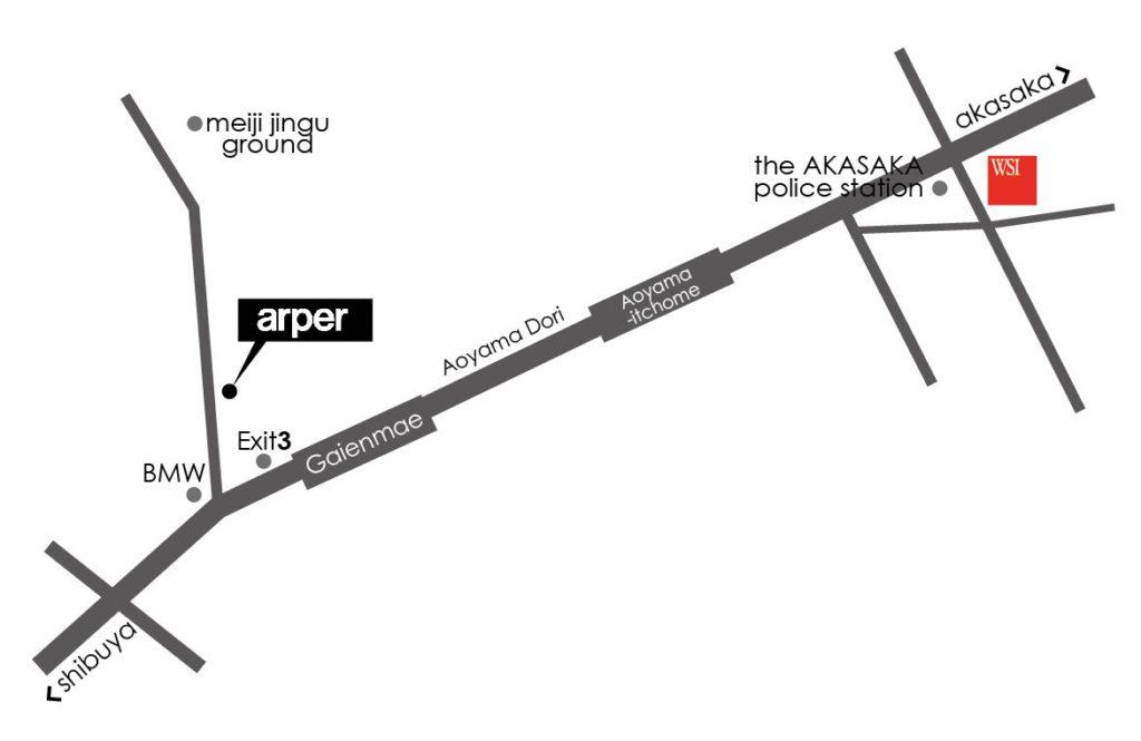 Arper_showroom_map