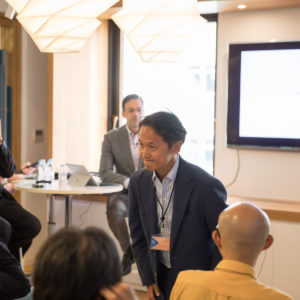 イベント当日は弊社代表取締役 越田 壮一郎もご挨拶させていただきました。
