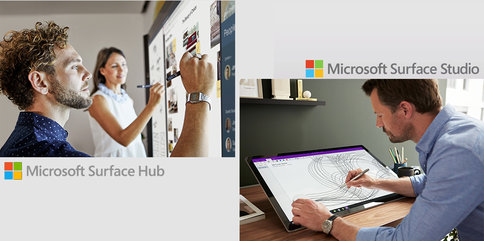 Creative Space and Microsoft Surface Hub